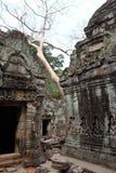 Ναός Khan Preah σε Angkor Στοκ Φωτογραφία