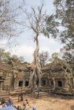 Ναός Khan Preah σε Angkor Thom Στοκ εικόνες με δικαίωμα ελεύθερης χρήσης