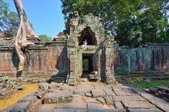 Ναός Khan Preah σε AngKor Wat Στοκ φωτογραφίες με δικαίωμα ελεύθερης χρήσης