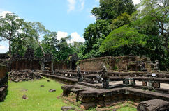 Ναός Khan Preah Στοκ Φωτογραφίες