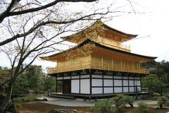 Ναός Kinkakuji, Κιότο, Ιαπωνία Στοκ Φωτογραφίες
