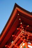 ναός kiyomizu Στοκ Φωτογραφίες