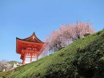 ναός kiyomizu Στοκ εικόνα με δικαίωμα ελεύθερης χρήσης