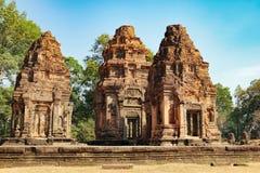 Ναός Ko Preah σε Angkor σύνθετο, Καμπότζη Στοκ εικόνες με δικαίωμα ελεύθερης χρήσης