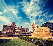 Ναός Konda Cholapuram Gangai. Tamil Nadu, Ινδία Στοκ Φωτογραφία