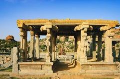 Ναός Krishna σε Hampi, Karnataka, Ινδία στοκ φωτογραφία με δικαίωμα ελεύθερης χρήσης