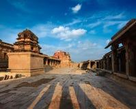 Ναός Krishna στο ηλιοβασίλεμα στοκ εικόνες