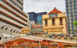 Ναός Krishnan Sri στη Σιγκαπούρη στοκ εικόνα