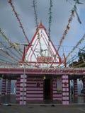 Ναός Kunjapuri κοντά σε Rishikesh Ινδία στοκ φωτογραφία με δικαίωμα ελεύθερης χρήσης