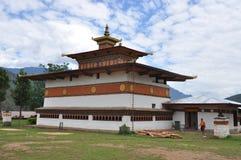 Ναός Lahkhang κτύπων στο Μπουτάν Στοκ φωτογραφία με δικαίωμα ελεύθερης χρήσης