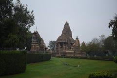 Ναός Lakshmana, Khajuraho, Ινδία Στοκ Εικόνες