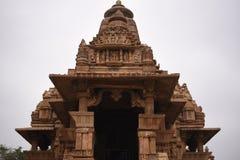Ναός Lakshmana, Khajuraho, Ινδία Στοκ Φωτογραφία