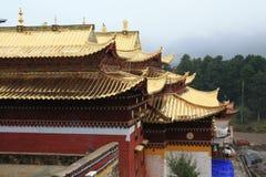 Ναός Langmu στο Θιβέτ Στοκ εικόνα με δικαίωμα ελεύθερης χρήσης