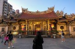 Ναός Longshan Στοκ φωτογραφίες με δικαίωμα ελεύθερης χρήσης