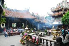 Ναός Longshan στοκ φωτογραφίες