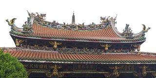 Ναός Longshan Mengjia Στοκ εικόνες με δικαίωμα ελεύθερης χρήσης