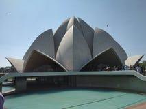 Ναός Lotus στοκ φωτογραφία