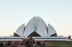 Ναός Lotus Bahai - Νέο Δελχί, Ινδία Στοκ Εικόνες
