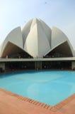 Ναός Lotus Sahba στην Ινδία Στοκ εικόνες με δικαίωμα ελεύθερης χρήσης