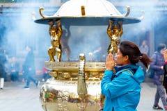 Ναός Lungshan Manka στην Ταϊβάν Στοκ φωτογραφία με δικαίωμα ελεύθερης χρήσης