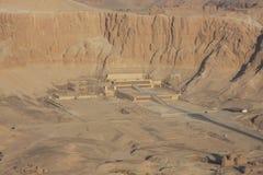 ναός luxor της Αιγύπτου hatshepsut Στοκ Εικόνες