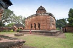 Ναός Madanmohan, Bishnupur, Ινδία στοκ εικόνες