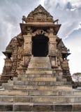 ναός madhya khajuraho pradesh Στοκ Εικόνες
