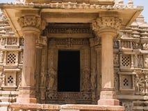 ναός madhya khajuraho pradesh Στοκ εικόνες με δικαίωμα ελεύθερης χρήσης