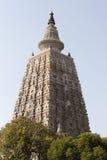 ναός mahabodhi Στοκ Φωτογραφία