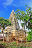 Ναός Mahabodhi, Bagan, το Μιανμάρ Στοκ Φωτογραφίες