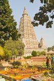 ναός mahabodhi bodhgaya Στοκ εικόνα με δικαίωμα ελεύθερης χρήσης