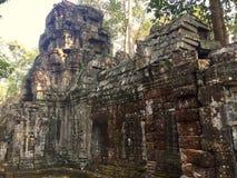 Ναός Mealea Angkor Beng, Καμπότζη Στοκ Φωτογραφίες