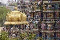 ναός menakshi του Madurai Στοκ Εικόνα