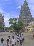 ναός menakshi του Madurai Στοκ Φωτογραφία