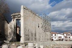 ναός monumentum augustus ancyranum Στοκ φωτογραφία με δικαίωμα ελεύθερης χρήσης