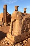 Ναός Naga στη Σαχάρα του Σουδάν Στοκ φωτογραφία με δικαίωμα ελεύθερης χρήσης