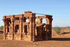 Ναός Naga στη Σαχάρα του Σουδάν Στοκ εικόνα με δικαίωμα ελεύθερης χρήσης