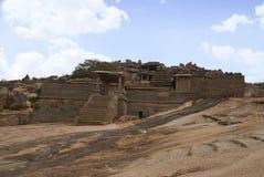 Ναός Narasimha Hampi, Karnataka Επίσης μερικές φορές αναφερόμενος ως ναός Jain στοκ εικόνες