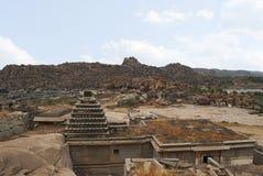 Ναός Narasimha Hampi, Karnataka Επίσης μερικές φορές αναφερόμενος ως ναός Jain στοκ εικόνες με δικαίωμα ελεύθερης χρήσης