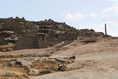 Ναός Narasimha Hampi, Karnataka Επίσης μερικές φορές αναφερόμενος ως ναός Jain στοκ φωτογραφίες