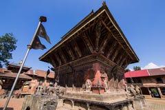 Ναός Narayan στην κοιλάδα Νεπάλ του Κατμαντού Στοκ φωτογραφία με δικαίωμα ελεύθερης χρήσης