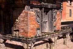 Ναός Narayan στην κοιλάδα Νεπάλ του Κατμαντού Στοκ Εικόνες