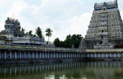 Ναός Nataraja Thillai, Σινταμπαράμ, Tamilnadu, Ινδία στοκ εικόνα