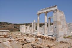 ναός naxos demeter Στοκ εικόνες με δικαίωμα ελεύθερης χρήσης