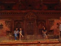 Ναός Nepali Στοκ εικόνα με δικαίωμα ελεύθερης χρήσης