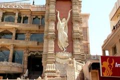 Ναός Noida, Ουτάρ Πραντές, Ινδία ISKCON Στοκ Φωτογραφία