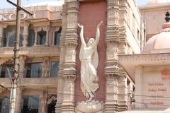 Ναός Noida, Ουτάρ Πραντές, Ινδία ISKCON Στοκ Εικόνες