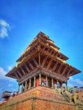 Ναός Nyatapola στην πλατεία Bhaktapur Durbar στοκ φωτογραφία με δικαίωμα ελεύθερης χρήσης