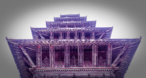 Ναός Nyatapola, Bhaktapur, Νεπάλ Στοκ εικόνα με δικαίωμα ελεύθερης χρήσης