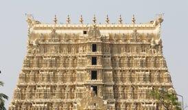 Ναός Padmanabhaswamy Sree, λεπτομέρειες γλυπτών Στοκ Φωτογραφίες